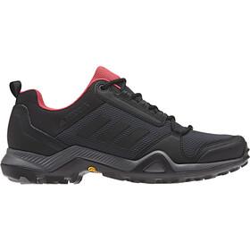 adidas TERREX AX3 Hiking Shoes Lightweight Women, carbon/core black/active pink